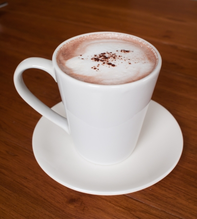 Delicious hot chocolate photo