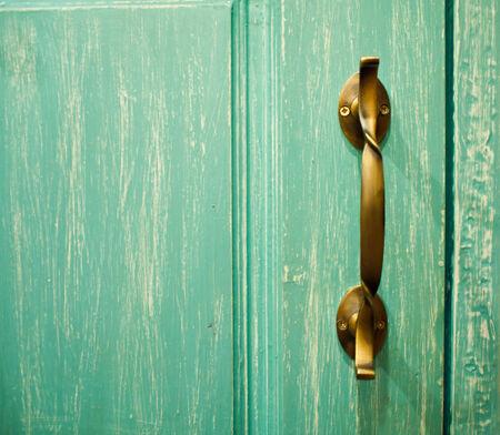 Antique door handles photo