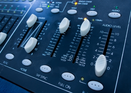 music mixer close up photo