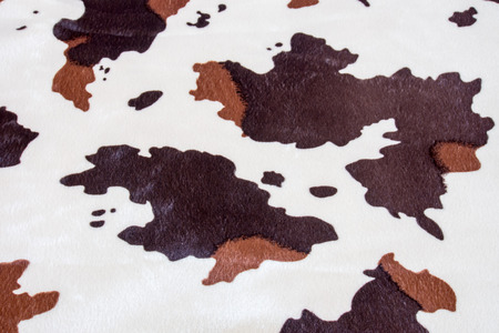 Cowhide for use as a background