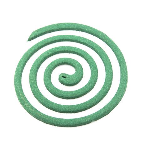 mozzie: Mosquito coil Stock Photo