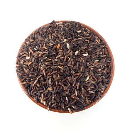 Arroz jazm�n tailand�s negro (baya Rice) Foto de archivo