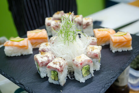sushi roll Stock Photo - 31774385