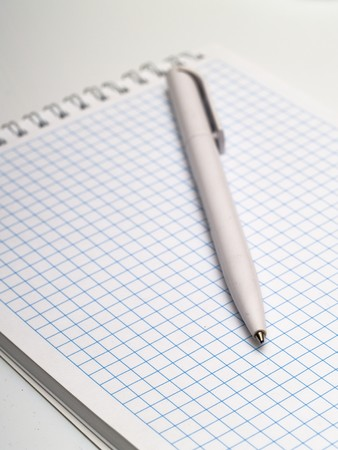 pen and notebook with space for inscribing the information Stock Photo - 7766373