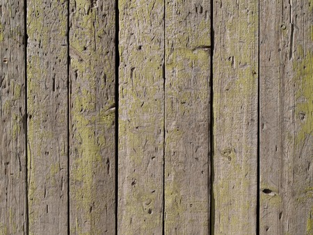 panel of a wooden picket fence for background Stock Photo