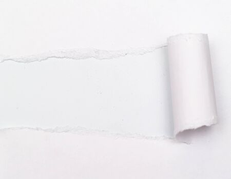 white background visible through the gray paper wrapped photo