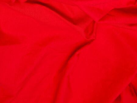 Red rough fabric for the background Stock Photo