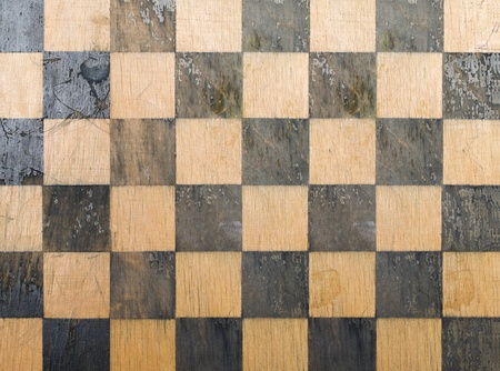 Old chess board texture  photo