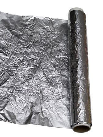 foil roll: foil twisted into a roll