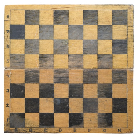 Old chess board texture