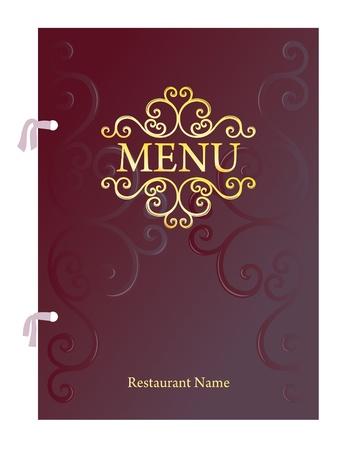 Restaurant Menu Design, Vector Illustration Illustration