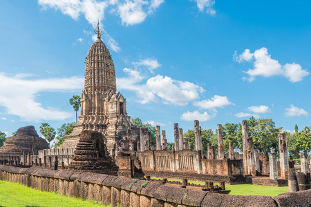 Si Satchanalai Historical Park Sukhothai Thailand,old town of Thailand
