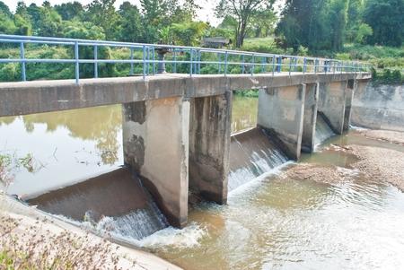 spillway: Dam,Thailand