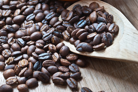 caffiene: Roasted whole unground coffee beans.