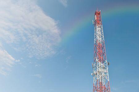 Communication tower Фото со стока - 40627362