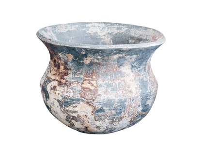 earthenware: earthenware isolated on white background