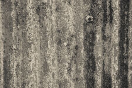 rust: Rusted galvanized of iron plate, Old Zinc rust textured for background Stock Photo