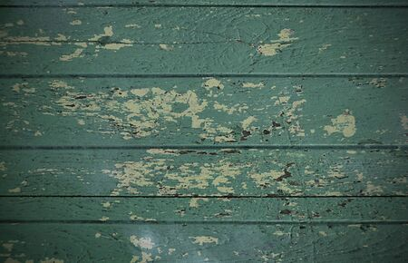 Natural Green Wooden Background, Texture Painted Wood Surface, Textured Abstract Background, Beautiful Natural Backdrop.  Stock Photo