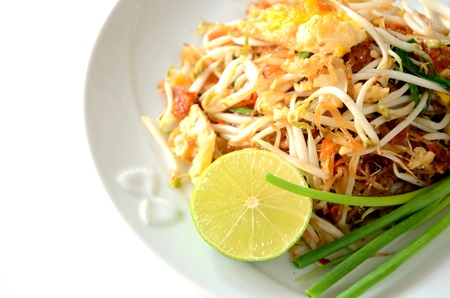 thai noodle: Thai food Pad thai