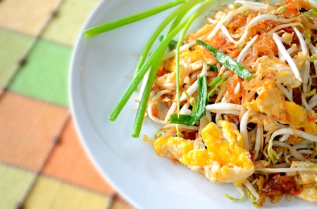 Thai food Pad thai