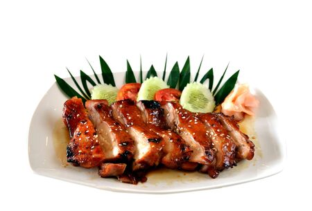 Teriyaki Chicken - Japanese Food Stock Photo - 10962641