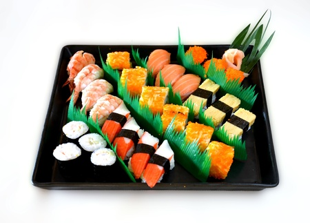 Mixed sushi photo