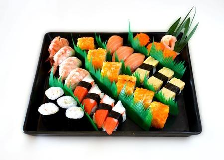 Mixed sushi photo