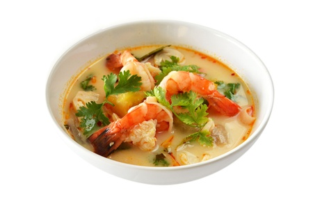 Thai Food Tom Yum Goong photo