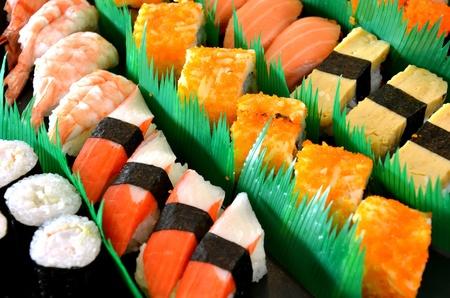 Mixed sushi Banco de Imagens - 11010024