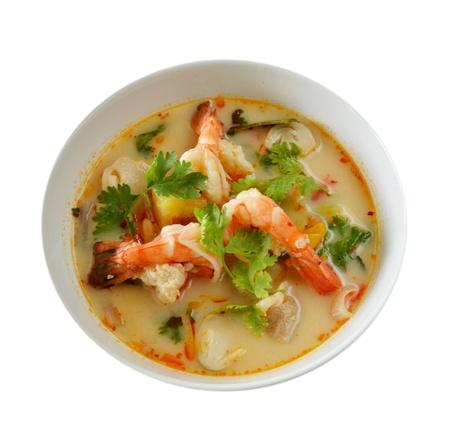 Thai Food Tom Yum Goong photo