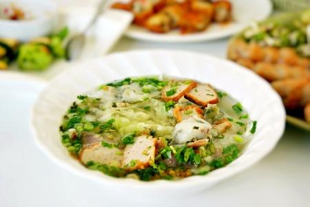 beef soup noodles , Vietnamese noodles Banco de Imagens - 12911326