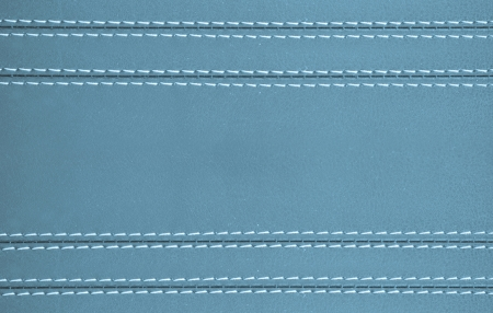 blue horizontal stitched leather background , art wallpaper