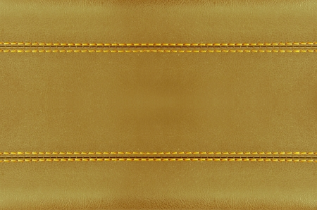 golden  horizontal stitched leather background  , art wallpaper photo