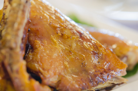 close up grilled chicken photo