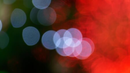 Abstract  red color with bokeh defocused lights background Foto de archivo - 128099846