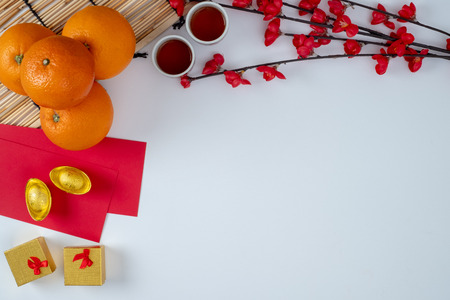 Chinese new year festival decorations Happy Chinese new year Accessories Chinese Stock fotó