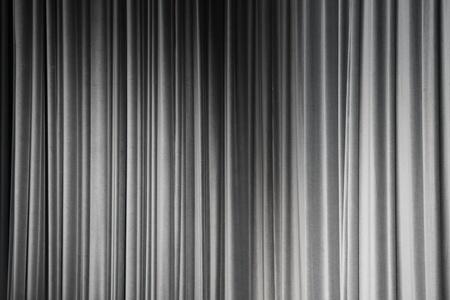 gray curtain