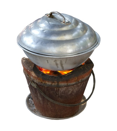 Thai cooking stove photo
