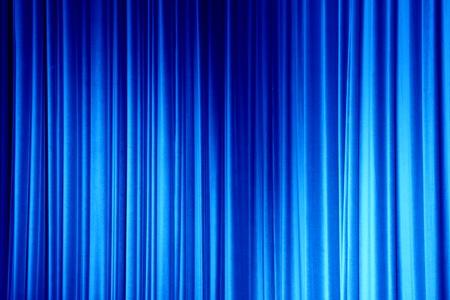 granatowy: Navy Blue Curtain Zdjęcie Seryjne