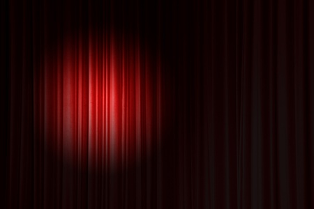 Spot light on Red Curtain.jpg