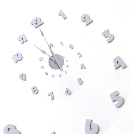 Clock and graphic background Stock Photo - 12930678