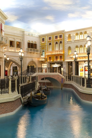 the Venetian Resort Hotel Casino in Las Vegas, US  Stock Photo - 13226323