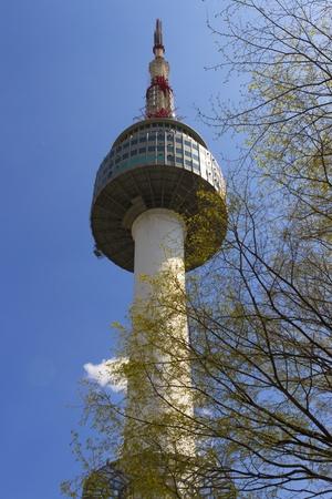 Seoul Tower, South Korea Stock Photo