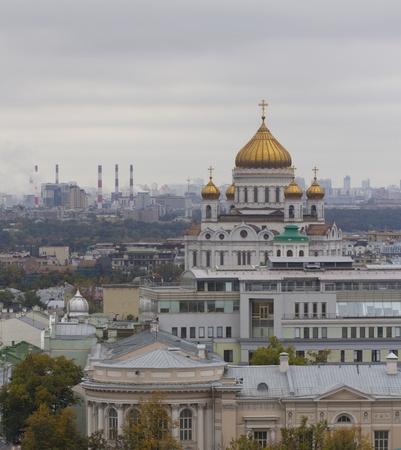 Christ the Savior Cathedral in Moscow, Russia