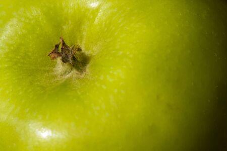 Green Apple skin background Stock Photo