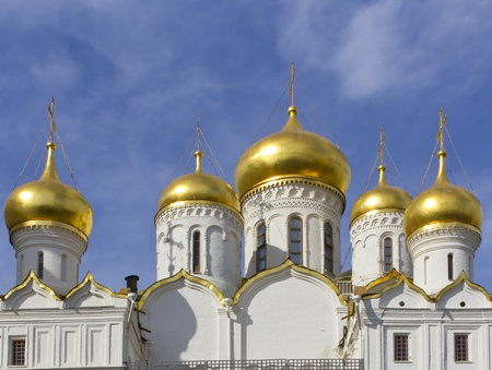 gorgeousness: Ivan the Great Bell tower on Cathedral Square in Kremlin, Moscow, Russia