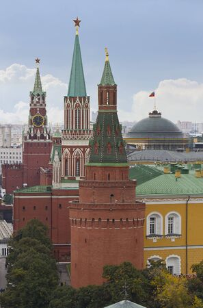 Towers Moscow Kremlin, Red Square, Russia