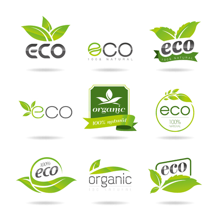 antipollution: Eco Icons Set - Ilustraci�n