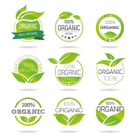 antipollution: Eco, iconos Org�nica Set - Ilustraci�n Vectores