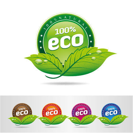 Eco Icons - Illustration Vector